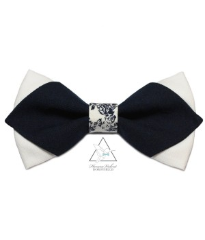 WHITE & NAVY - LE POINTU